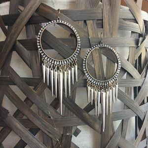 Accessories - Metal-coolness!! Edgy and spiked earrings!